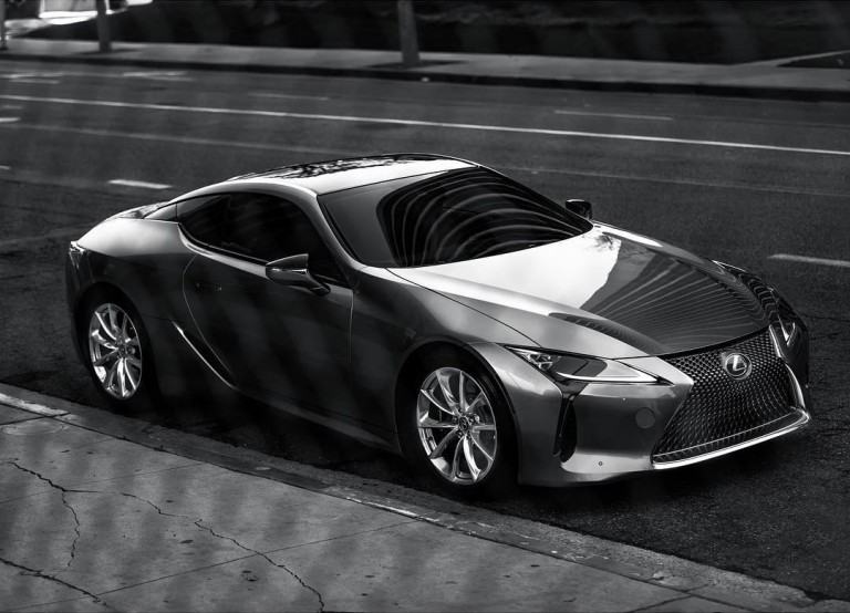 Power move. #LexusLC 500